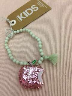 Sparkly Apple Bracelet for girls by Cotton On