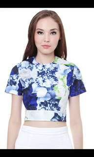 MDS Collections Cate Top in Floral