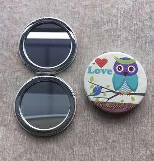 Pocket Mirrors / Cosmetic Mirrors - Circle Shape morning