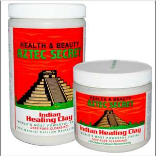 AUTHENTIC - Aztec Healing Clay Mask 1lb