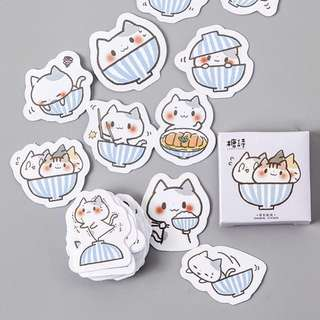 [IN] [ST] Boxed Stickers: Adorable Cats