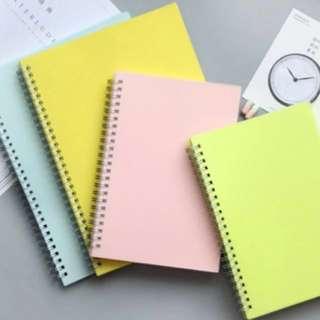 [Instocks] Muji Inspired Notebook (A5)