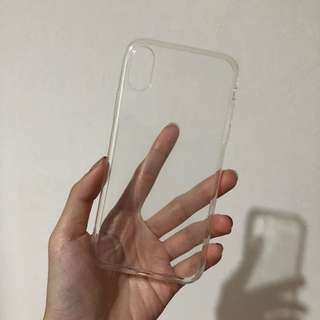 Simple Clear Transparent Case for iPhone X