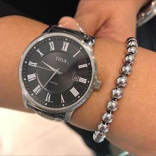 原廠正貨全新100%real,new鐵達時皮帶錶😎