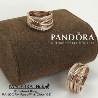 ENTWINED ROSE RING