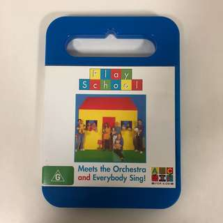 2005 Play School DVD - Meets the Orchestra and Everybody Sing!