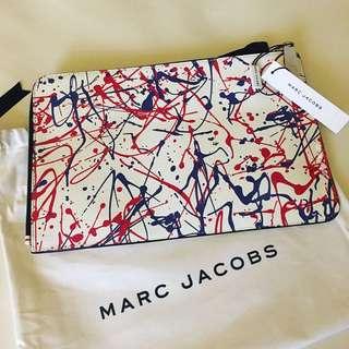 Marc Jacobs Splatter Paint Large Pouch
