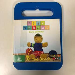 2008 Play School - At the Beach DVD