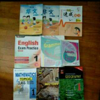 Secondary One Books