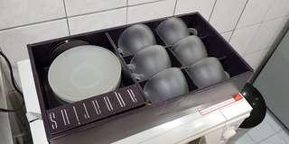 茶杯組6入 清廚房用不到物品 保存良好
