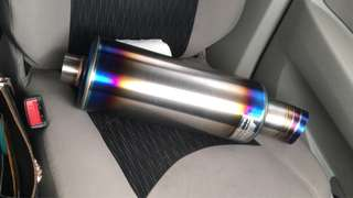 J's Racing S Flow Muffler Thai Copy