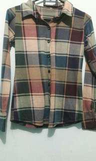 [Reprice] Kemeja Flannel