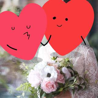 Pre wedding big day 花嫁 花球 花束 結婚 歐陸式不規則花球 絲花 婚後物資