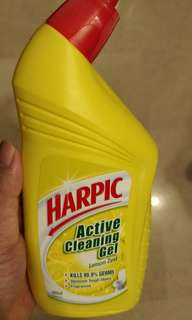 Harpic active cleaning gel citrus/lemon/lavender remove tough stain