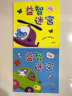 Chinese Books Maze
