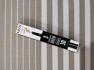 NYX 3 Dimensional Brow Pencil