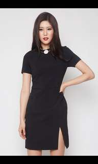 MDS Collections Maura Dress in Black