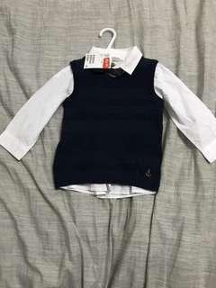 Tshirt size 9-12m