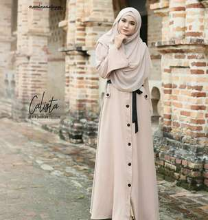 MF - 0418 - Outwear Calista Abaya