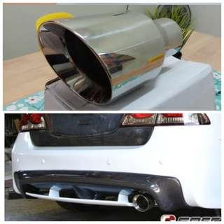Exhaust Tip ekzos kereta