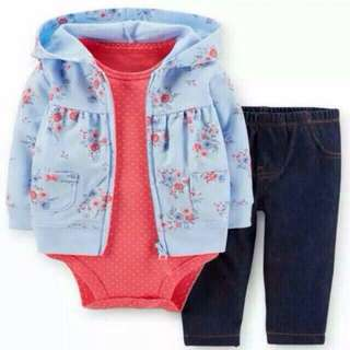 Carter's 3in1 set jacket