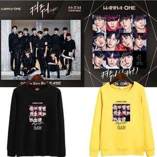 Preorder - Wanna One Sweatshirt *S-2XL* exc.pos
