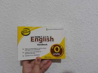 o'lvl english guide book