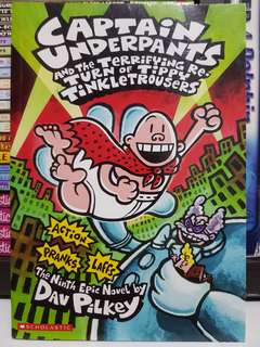 Captain Underpants and the Terrifying Return of the Tippy Tinkletrousers Paperback