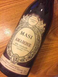 Red wine Masi Amarone 1995 (比市價便宜$2xx)