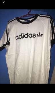 Adidas trefoil shirt (White)