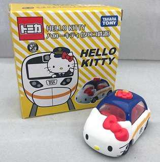 Hello Kitty tomica taiwan railway