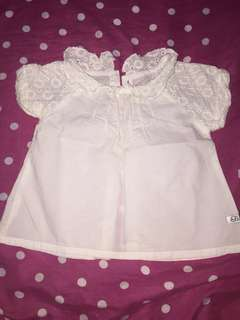 Peppermint Baby blouse