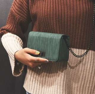 Newstyle sling bag emerald green  #July70