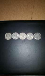 Vintage 1967-1968- 1969- 1970 1976 $1 coins