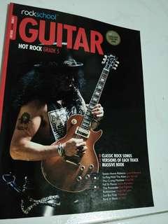 FULL Guitar Hot Rock Grade 5 FULL TABS w/ CDs