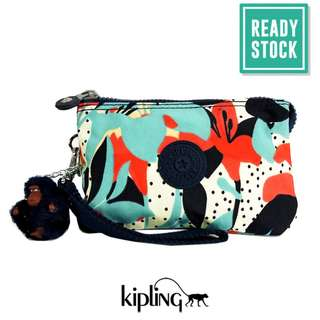 AUTHENTIC KIPLING CREATIVITY POUCH (PASTEL LILY) KP050