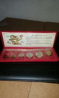 Vintage 1988 coin set