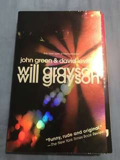 will grayson, will grayson -john green