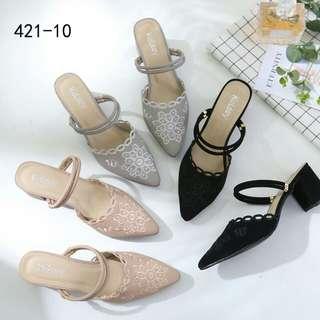 [KELSEY LUXURY HEELS 421-10] Sepatu Fashion Wanita Impor Murah
