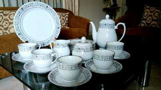 Tea Set antik tahun 70an made in china