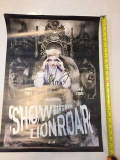 Show Luo Official Autographed Poster  羅志祥