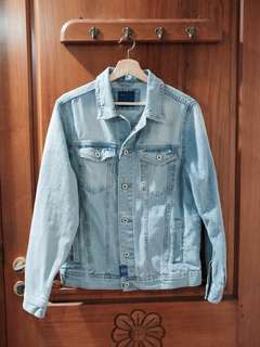 NEW ZARA Denim Jacket (Harga Asli 700)