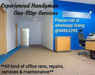 Experienced Office Handyman Services