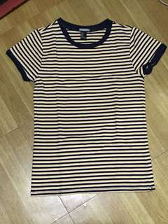 Forever 21 stripes shirt