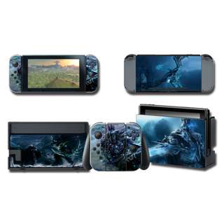 Nintendo Switch Decal Skin Ice Dragon