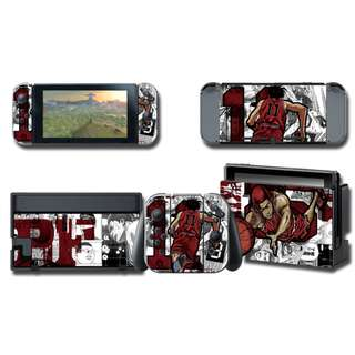 Nintendo Switch Decal Skin Slam Dunk Red
