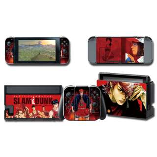 Nintendo Switch Decal Skin Slam Dunk Red 2