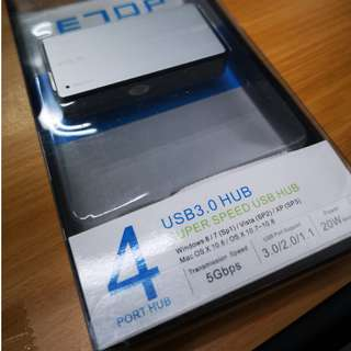 Super Speed USB 3.0 Hub ( 4 Port )