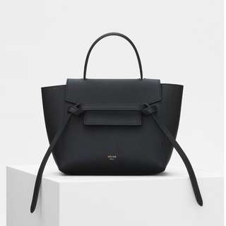 Celine belt bag nano in black