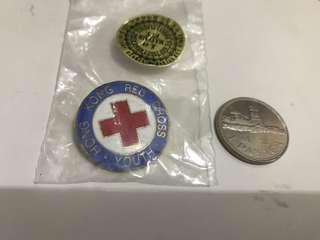 紅十字會青年團帽章